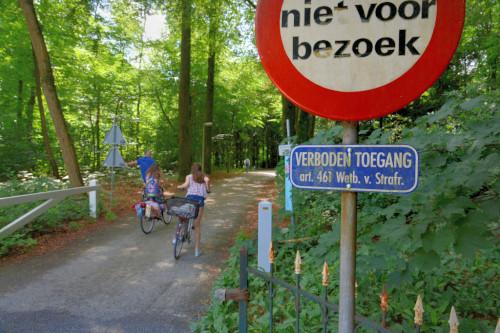Hemelse Berg verboden toegang