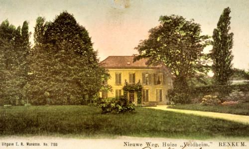 Nieuwe Weg, Huize Veldheim Renkum, 1905