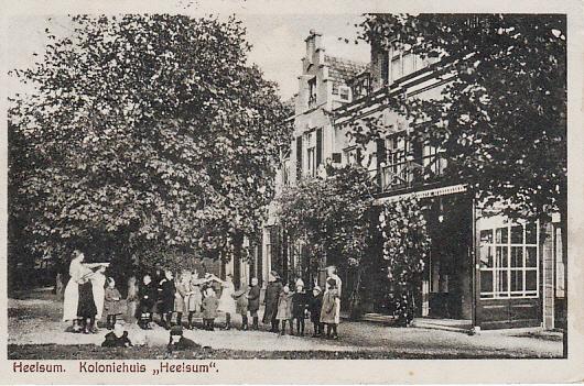 Heelsum Kinderhuis rond 1920