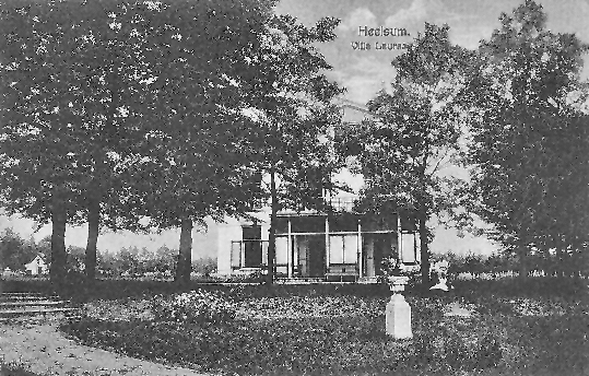 Villa Laura Heelsum voor 1950