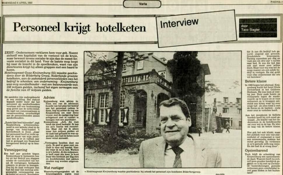 Bilderberg groep 1983