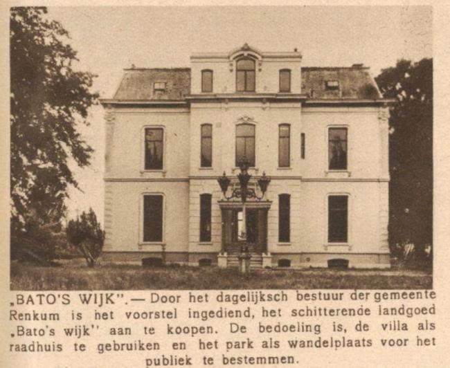Oosterbeek Gemeentehuis Bato's wijk