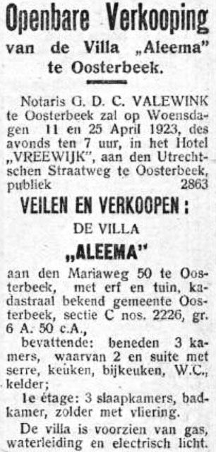 Villa Aleema Oosterbeek