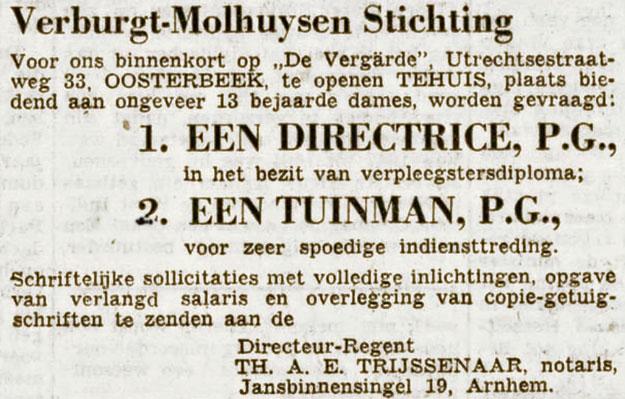 Verburgt Molhuyzen Oosterbeek