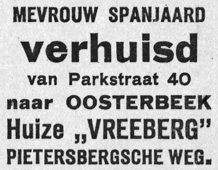Vreeberg Oosterbeek