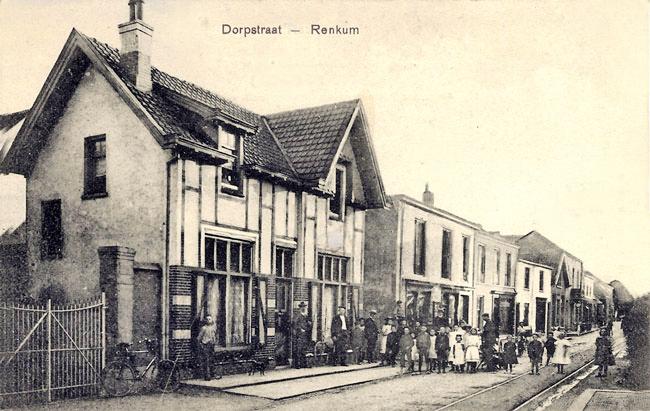 Renkum hulppostkantoor in 1880