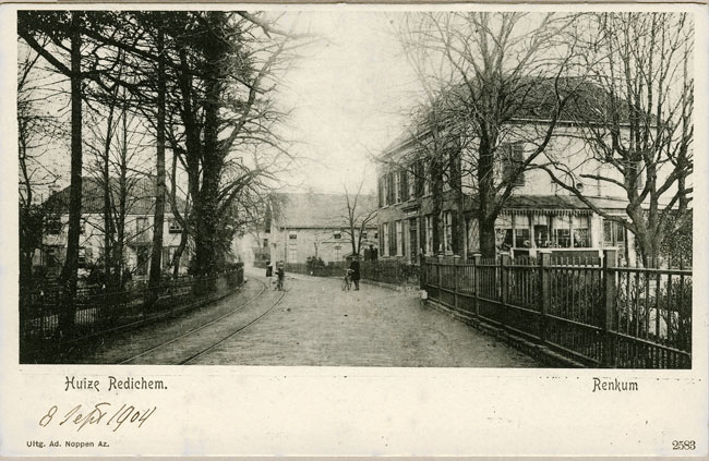 Huize Redichem rond 1904