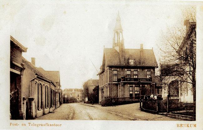 Renkum postkantoor met torentje