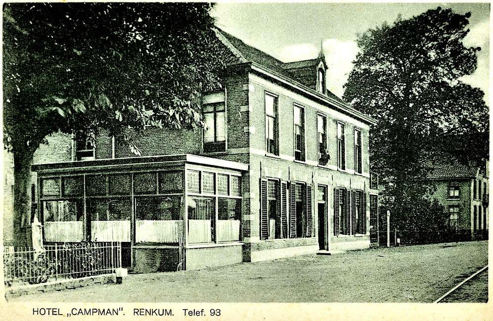 Campman I, Dorpsstraat Renkum