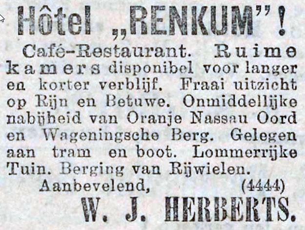 Renkum hotel