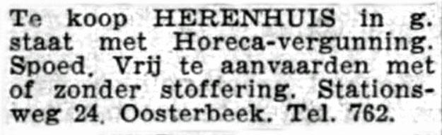 rusthuis Oosterbeek