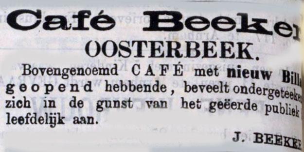 Beeker Oosterbeek