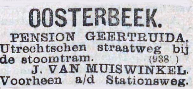 Pension Geertruida Oosterbeek