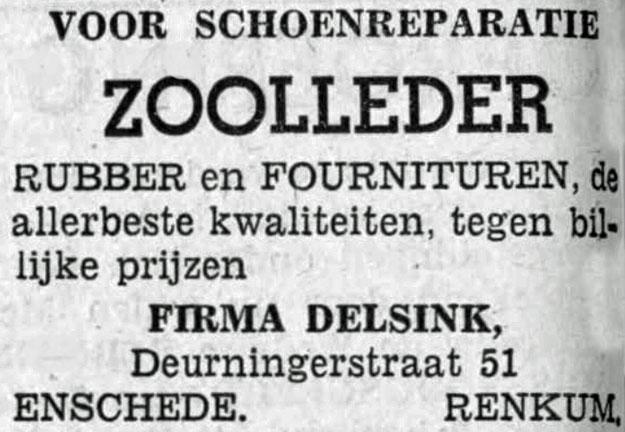 Delsink Renkum en Enschede