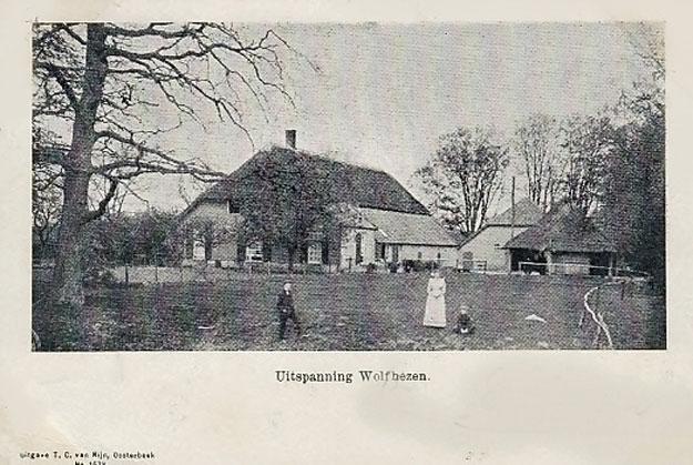 Uitspanning Wolfheze rond 1900