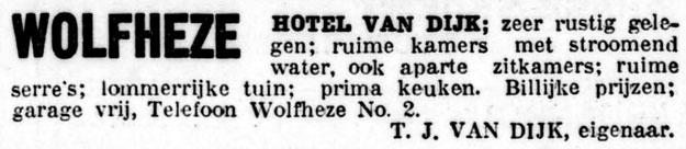 Hotel van Dijk Wolfheze