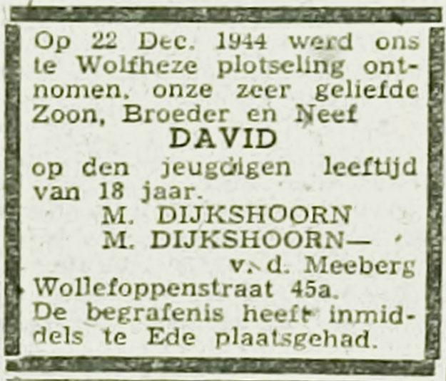 David Dijkshoorn