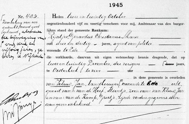 Oosterbeek Jan van Veluw