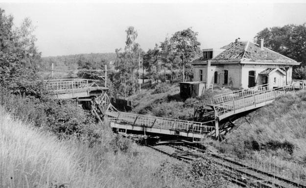 Station Oosterbeek Hoog 1945
