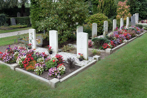 Oosterbeek begraafplaats Zuid